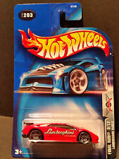 2003 Hot Wheels #203 Final Run 9/12 - Lamborghini Diablo - 57180