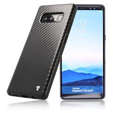 PULSARplus® Samsung Galaxy Note 8 Hülle Handy Carbon Case Schutzhülle Schwarz