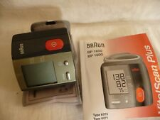 blood pressure monitor BRAUN BP 1650 + instructions ...US1