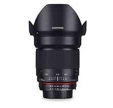Obiettivi Samyang per fotografia e video Apertura massima F/1.4 Lunghezza focale 24mm