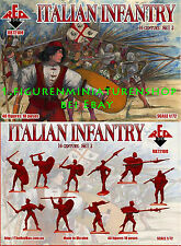 1:72 FIGUREN 72100 Italian Infantry 16th Century Set 2 - REDBOX NEU