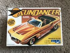 1969 Firebird Trans Am Sundancer Model Car Kit NEW sealed MPC 1/25 Golden Wheels