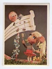 figurina TOPO GIGIO ALBI PER LA GIOVENTU' 1975 EDIZIONI PEREGO IMPERIA numero 75