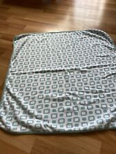 Organics for Kids Réversible baby blanket