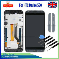 For HTC Desire 530 LCD Screen Display Touch Glass Digitizer Replacement + Frame