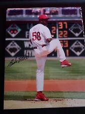 Eude Brito RARE AUTOGRAPHED ORIGINAL 8x10 photo - Phillies MLB Debut game