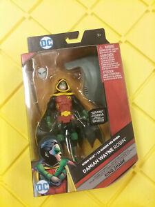 Mattel DC Multiverse Damian Wayne Robin Figure King Shark  C&C NEW