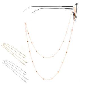 Sunglasses Eyeglasses Bead Chain Glasses Eyewears Cord Holder Neck Lanyard Strap
