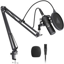 XLR Condenser Microphone Set MAONO AU-PM320S Professional Cardioid Vocal Studio