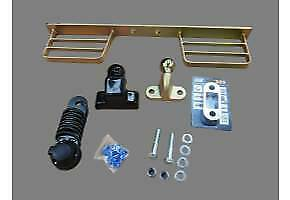 TWIN STEP ZINC  + TOW BALL WITH 25MM SPACER + FIXING KIT  COVER & 7 PIN SOCKET