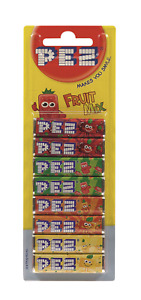 1 x 8 Pack PEZ Candy Sweets Fruit Mix Refills