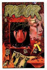 Razor #2 Nm Burn Everette Hartsoe's Signed Everette Hartsoe Cbx8A