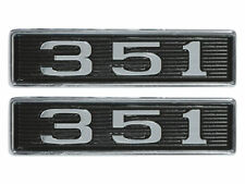 New 1969 Torino 351 Emblems Hood Scoop GT Ranchero Mustang LH RH Ford