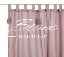Balnc Mariclò Tenda con nappe e embrasse Rosa Polvere Serie Infinity