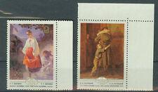 Russland Briefmarken 1979 Ukrainische Gemälde Mi.Nr.4893+96 postfrisch