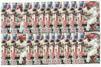 x100 ARISTIDES AQUINO 2020 Topps #20 Rookie Card RC logo lot/set Cincinnati Reds