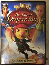 THE TALE OF DESPEREAUX ~ 2008 Ordenador Animación Película Película RU DVD