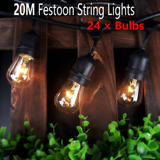 20M Vintage Retro Style Festoon/ Party/ Wedding Outdoor Marquee String Light Kit