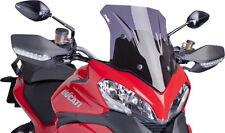 PUIG RACING SCREEN (DARK SMOKE) Fits: Ducati Multistrada 1200,Multistrada 1200 S