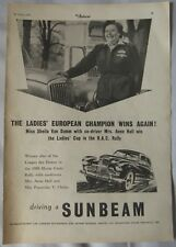 1955 Sunbeam Original advert No.2