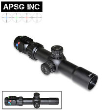 1-6X32 35Mm Tube, Rifle Scope Rgb Ill,Bubble,Mil-Dot,Long Eye Relief, Warranty