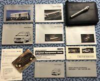 1998 MERCEDES ML320 ORIGINAL OWNERS MANUAL SET + RARE MB FLASHLIGHT OEM BOOKS