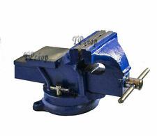 PDR* Morsa da banco girevole 100 mm professionale in ghisa e acciaio incudine