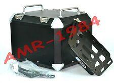 TOP CASE 41 LITRI MYTECH ALLUMINIO NERO + PIASTRA BMW F800 GS 2008-2013  BMW052