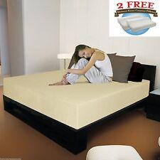 12 inch Full Luxury KoolComfort™ Memory Foam Mattress With 2 Free Gel Pillows