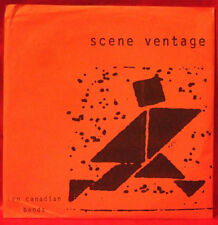 "Scene Ventage Ten Canadian Bands 7"" Break Even Chitz Punk Rare Supreme Echo 1997"
