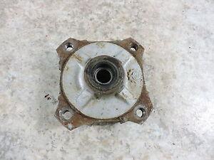 02 Polaris Scrambler 50 ATV front wheel rim mount hub brake drum