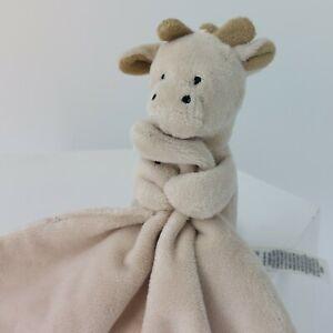 Baby Giraffe Comforter M&S Brown Beige