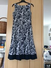 Monsoon Dress Size 10, Fully Lined And Sleeveless