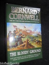 The Bloody Ground by Bernard Cornwell -1996-1st - American Civil War Novel, HBDJ