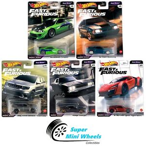Hot Wheels 2021 Fast & Furious Fast Stars L case Set of 5 Cars [In-Stock]