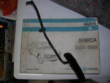 SIMCA 1301 - 1501 PEDALE ACCELERATEUR NEUF ORIGINE D'EPOQUE