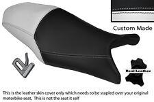 BLACK & WHITE CUSTOM FITS YAMAHA XJ6 600 F DIVERSION XJ6N 09-13 DUAL SEAT COVER