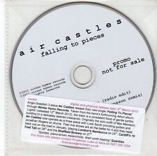 (EE855) Air Castles, Falling To Pieces - 2012 DJ CD