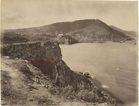 Algeria Arancio Wahran Foto Neurdein Vintage Albume-Albume Ca 1880