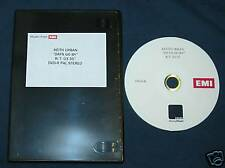 KEITH URBAN DAYS GO BY UK 1-TRK PROMO TEST PRESS DVD