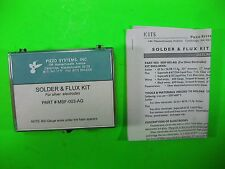 Piezo Systems Solder x Flex Kit for Silver Electrode -- MSF-003-AG -- New
