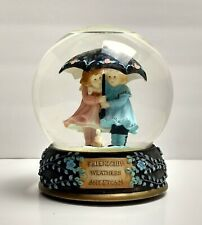San Francisco Music Box Co. Music Snow Globe Cherish The Thought - Friendship *E