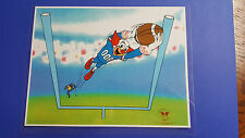 BOZO THE CLOWN FOOTBALL SERICEL SERIGRAPH ANIMATION CEL CELL ART