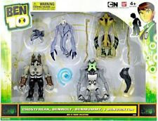 Ben 10 Ghostfreak, Benwolf, Benmummy & Benvicktor Action Figure 4-Pack [Damaged]