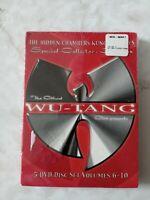 WU-TANG Clan KUNG-FU 5-DVD-Set Hidden Chambers Collection Vol 6-10 Rare Sealed