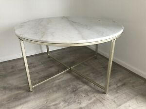 marble coffee table round