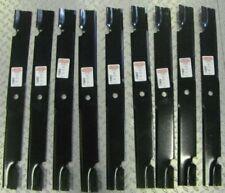 91-627 Set of 9 Zero Turn Lawn Mower Blades Toro Ferris