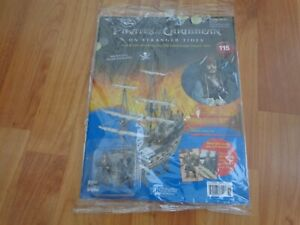 HACHETTE BUILD THE PIRATES OF THE CARIBBEAN BLACK PEARL SHIP ISSUE 115 INC PART