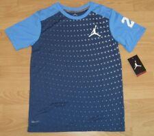 Nike Air Jordan Jumpman Shooting Shirt Ombre Fade North Carolina Size Youth XL