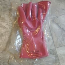 Salisbury (9) D120  Type 1 Gloves 1000v AC Class 0 - Red  / New / sealed